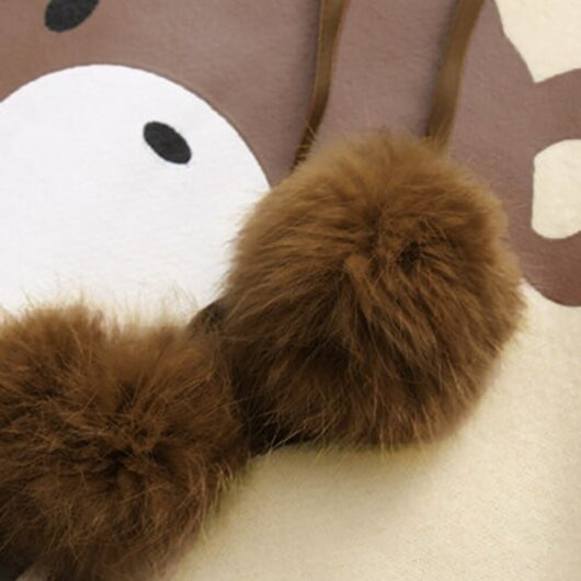 Kawaii Hoodie with Bear Ears