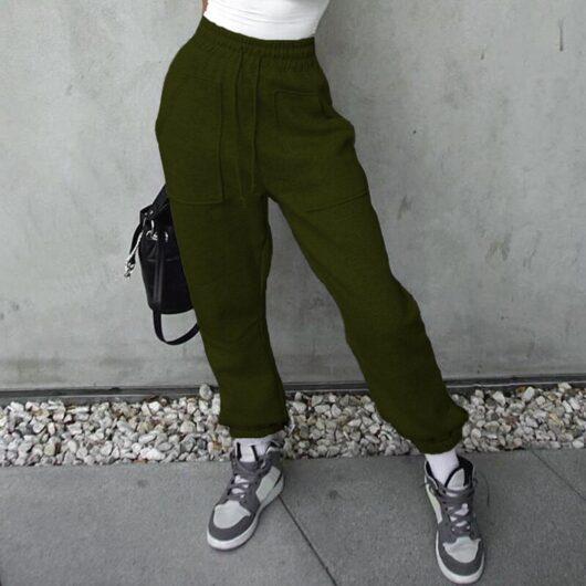 High Waist Jogging Sweatpants