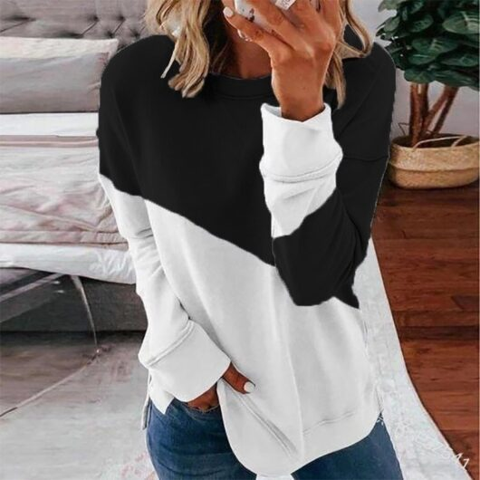 Patchwork Oversized Aesthetic Top