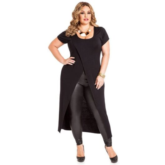 Plus Size High Low Tunic